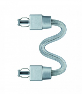 Paulmann ULine System L+E Max-Verbinder flexibel Chrom matt Kunststoff