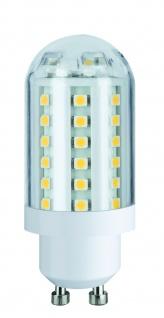 281.67 Paulmann GU10 Fassung Leuchtmittel 3W 60 LEDs GU10 230V Warmweiß
