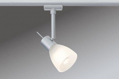 Paulmann URail Syst. Light&Easy LED Spot Phara 1x3W GU10 Chrom matt/Satin 230V Metall/Glas
