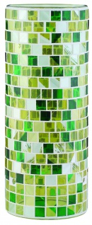 Paulmann Living 2Easy Glas Fabro Mosaik Gelb/Grün