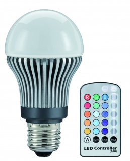 Paulmann 280.71 LED Glühlampe 5W RGB E27 remote