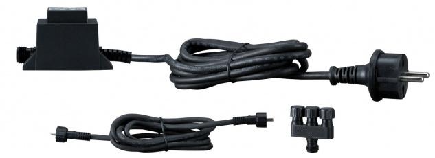 Paulmann 987.59 LED Trafo IP44 6W 230/12V AC 6VA Schwarz