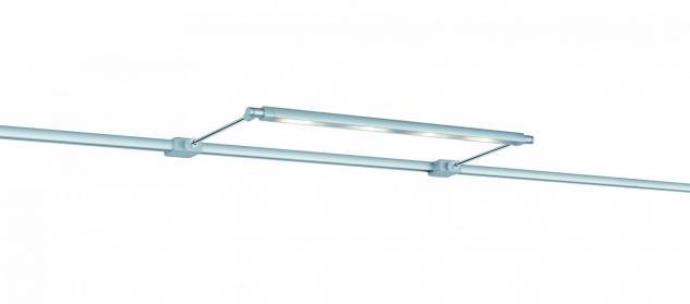 ULine System L+E Galeria Leuchte Line 1x10W LED Chrom matt 12V Metall