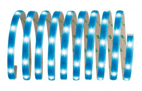 Paulmann 705.03 Function YourLED Basisset DECO 3m Glitter Blue WW 7, 2W 230/12V 18VA bl Kunststoff