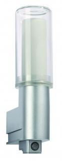 701.05 Paulmann Wandleuchten WallCeiling DS Modern Basis WL IR-Sensor IP44 11W E27 Chrom matt 230V Kst/Glas