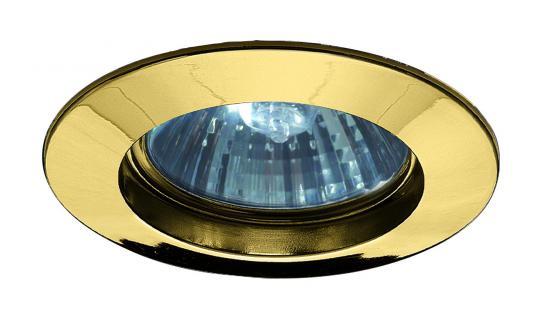5793 Paulmann Einbauleuchten Premium EBL max.50W 230V GU10 51mm Gold/Alu Zink