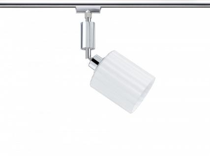 950.96 Paulmann U-Rail Einzelteile URail System Spot Zyli 1x3W Chrom/Weiß 230V/12V Metall/Glas