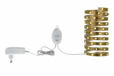 3560 Nice Price LED-Stripes Nice Price LED Stripe Set 3m RGB 21, 6W 230/12V DC Kupfer Metall