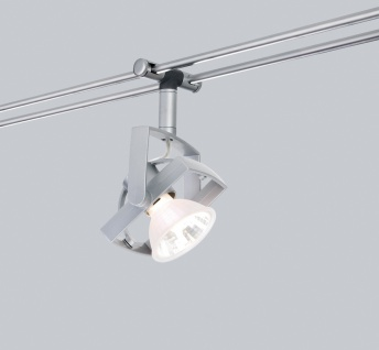 Paulmann Schienensystem Light&Easy Spot Mac² 1x35W GU5, 3 Chrom matt 12V Metall/Plastik - Vorschau 2