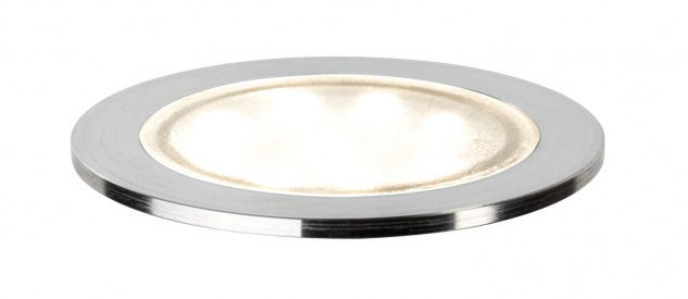 Paulmann 938.28 Spec Einbauleuchte Set Allround rund IP67 LED 4000K 3x0, 7W 3, 6VA 230/12V 45mm transparent/Kunststoff/Edelstahl