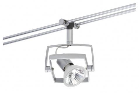 976.25 Paulmann 12V Einzelteile Rail System Light&Easy Spot Mac² 1x35W GU5, 3 Chrom matt 12V Metall/Plastik