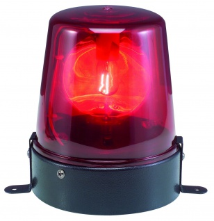 TIP Party emergency light 1x15W E14 Rot 240V