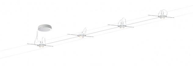 AirLED System Set Ball 4x5W, Weiß 230V, 700mA, Metall/Kunststoff