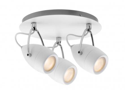 Paulmann 667.16 Spotlight Drop IP44 Rondell max 3x10W GU10 Weiß/Chrom 230V Metall
