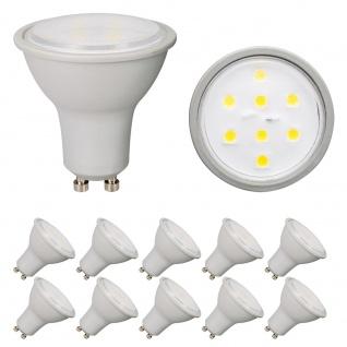 10 x 3561 Nice Price GU10 Fassung NP LED Reflektor 2, 6W 230V Warmweiß