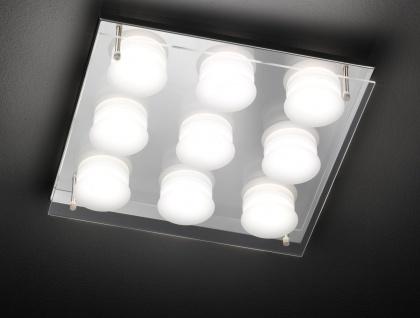 50182 ETT Deckenleuchte 9 flg. LED 9 x 5 W 3.000 K 3.375 lm Chrom