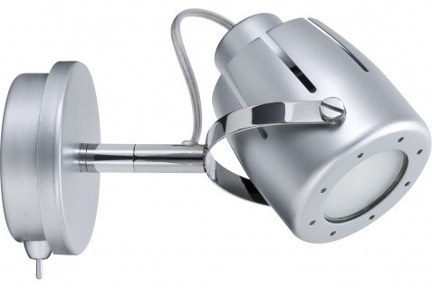 Paulmann 600.41 Spotlights Mega Balken max. 1x50W GU10 Chrom matt 230V Metall