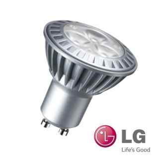1x LG LED GU10 4, 3W Leuchtmittel 230V Power LEDs Warm Weiß