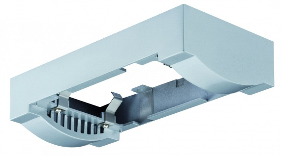 Paulmann Premium Aufbauring für Einbauleuchte Linear LED Chrom matt / Alu