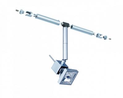 Paulmann Seil- und Schienensystem CombiEasy Spot Cumin 1x35W GU5, 3 Chrom matt 12V Metall