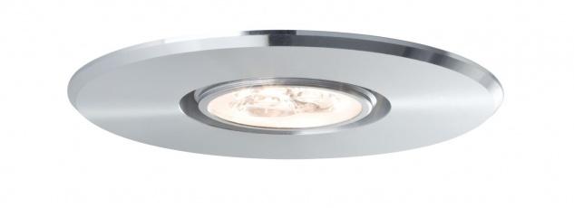 Paulmann 925.70 Premium Einbauleuchte DecoSystems Basis LED 1x3W 3VA 350mA 94mm Alu gedreht/Alu
