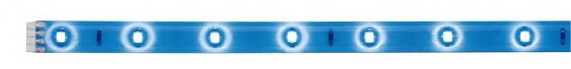 Paulmann Function YourLED Stripe 97cm Blau 3, 12W 12V DC Weiß Kunststoff
