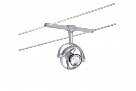 Paulmann Wire System LightEasy Spot Mac² R 1x20W GU4 Chrom matt 12V Kunststoff