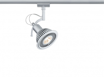 Paulmann 952.80 URail Schienensystem LED Spot Roncalli II 1x11W GU10 Chrom matt 230V Metall