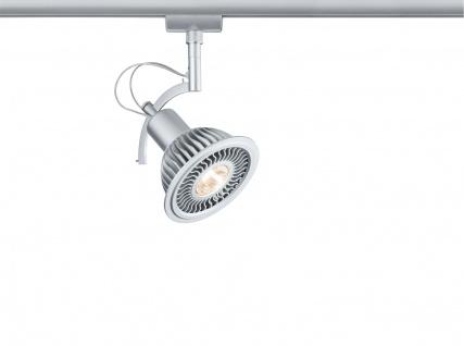 URail System LED Spot Roncalli II 1x11W GU10 Chrom matt 230V Metall