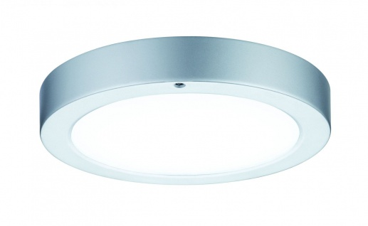 Paulmann WallCeiling Smooth LED-Panel 210mm 7, 5W 230V Chrom matt/Weiß Metall/Kunststoff