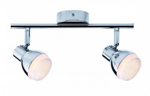 Paulmann Spotlight Gloss LED 2x4, 6W Chrom 230V Kunststoff