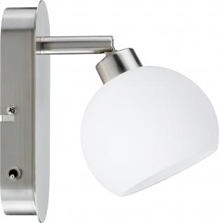Paulmann 601.50 Spotlights Wolbi Balken 1x3W Eisen gebürstet/Weiß 230V Metall/Glas