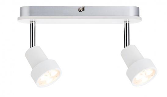 Paulmann 602.27 Spotlight Arioso Balken 2x3W Weiß matt 230V Metall