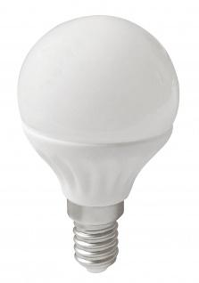 LED Leuchtmittel 3W E14 4000K Neutralweiss 230V 260lm Weiß satiniert