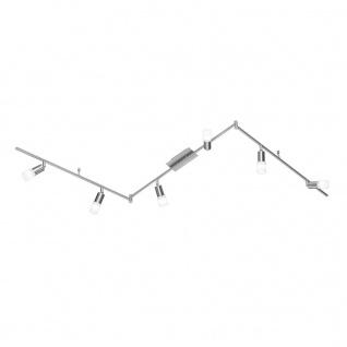 938806640000 Action Deckenlampe Alvis LED Deckenleuchte E14 18 W 3.000 K 1.560 Lumen Nickel matt