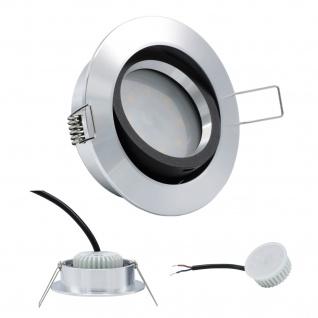 LED Einbauleuchte 96528 Alu 5W 3000K 230V Modul flache Einbautiefe 35mm - Vorschau 1