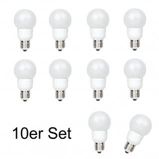 10x 28022.10 Paulmann E27 Fassung LED AGL 1W Tageslichtweiß