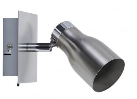 Paulmann 666.86 Spotlight Meli max 1x10W GU10 Nickel satiniert 230V Metall