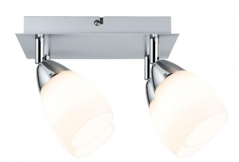 Paulmann 602.66 Spotlights WolbaLED Balken 4x3W GU10 230V Chrom matt Metall/Glas