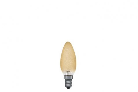 Paulmann 561.47 Kerzenlampe 40W E14 97mm 35mm Eiskristall Bernstein