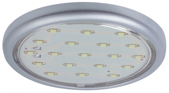 Paulmann Möbel Aufbauleuchte LED 1x1, 22W 12V 59mm Chrom matt/Kunststoff