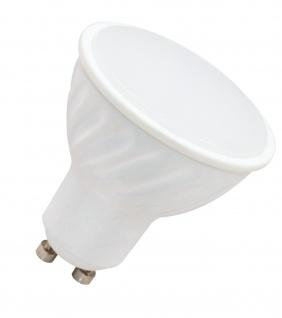 5W LED Leuchtmittel GU10 Fassung warmweiß 3000 Kelvin 350 Lumen 110 Grad