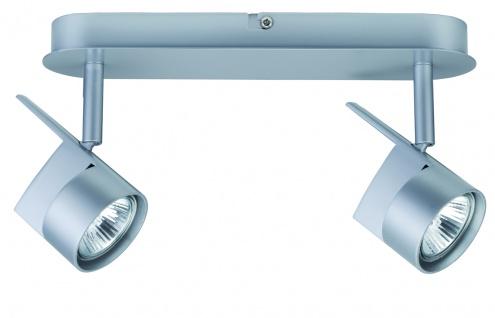 Paulmann 665.71 Spotlights EasyPower Balken 2x50W GU5, 3 Chrom matt 230/12V 105VA Metall