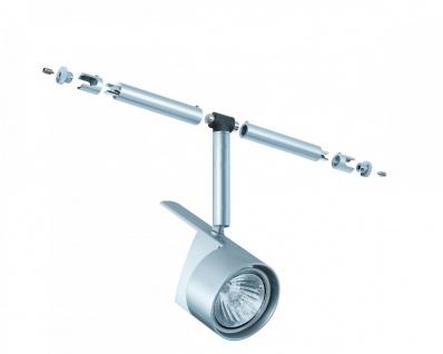 940.44 Paulmann Seil Zubehör / 12V Einzelteile WiRa System CombiEasy Spot EasyPow 1x50W GU5, 3 Chrom matt 12V Metall