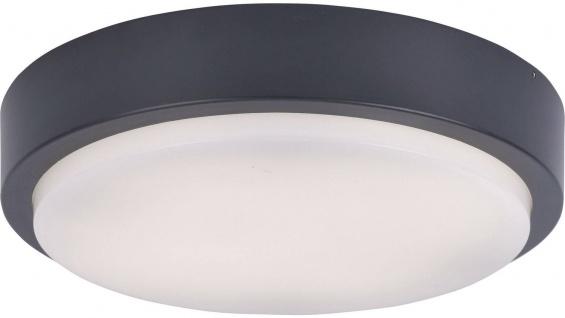 Paul Neuhaus 9650 LED-Deckenleuchte Q-LENNY anthrazit 1200Lm dimmbar IP65 RGB 3000K