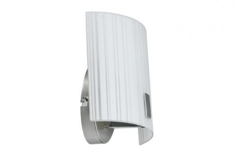 Paulmann 701.71 WallCeiling Fluxor WL max.60W E14 matt/Weiß 230V Metall/Glas