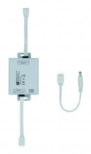 Paulmann Function MaxLED Dimm/Switch Verstärker max. 144W 24V DC Alu matt Metall