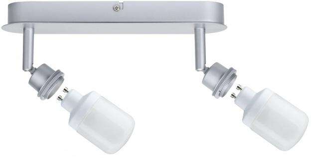 Paulmann 600.22 Spotlights DecoSystems Balken 2x9W GZ10 Chrom matt 230V Metall