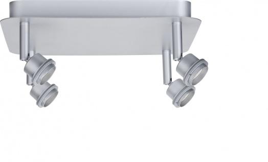 Paulmann 665.41 Spotlights DecoSystems Rondell 4x3W Chrom-matt 230V/12V Metall