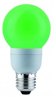 Paulmann Energiesparlampe Globe 60 Color 5W E27 Grün